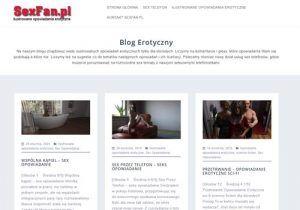 Ranking najlepszych Blogów Erotycznych